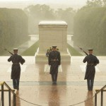 Tomb of the Unknown Soldiers. The first 24-hour post was put up July 2, 1937