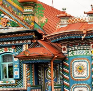 Gingerbread Terem that Sergey Kirillov built