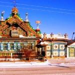 Gingerbread Terem that Sergey Kirillov built