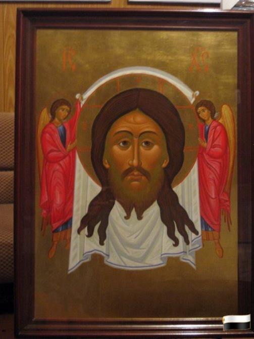 Holy Face in the Saviour Cathedral in Viatka, Russia