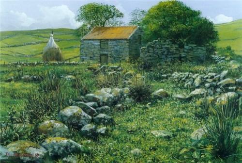 English artist Peter Ellenshaw