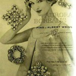 Albert Weiss vintage jewelry poster