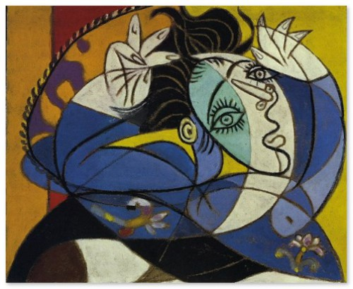 Dora Maar and Pablo Picasso