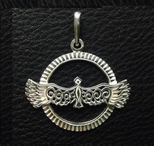 Eagle silver pendant