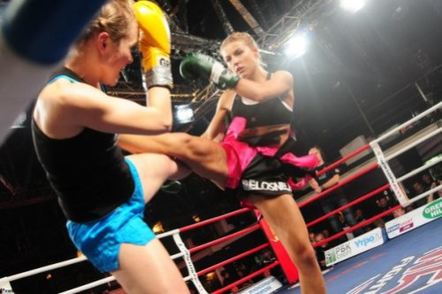 Barbie Thai boxing champion Ekaterina Vandaryeva