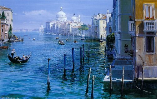 Grand Canal-Venice