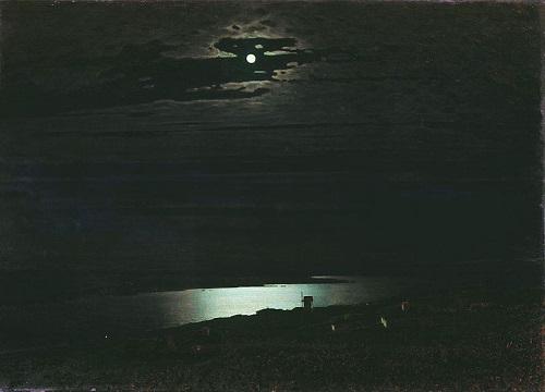 Moonlight above the Dnepr