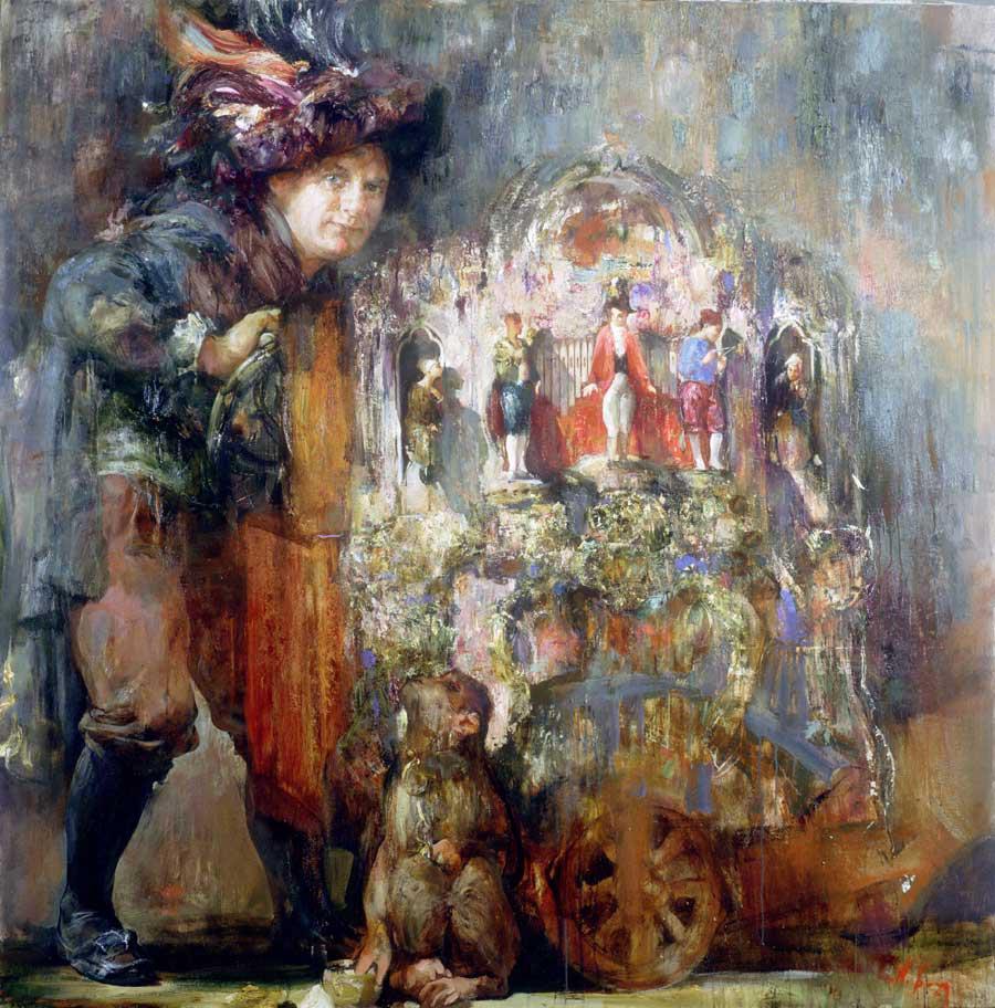 Painting by Nikolai Blokhin