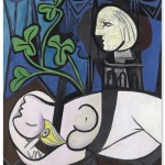 Nude, Green Leaves and Bust 1932