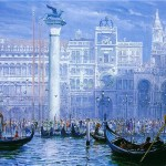 Piazzetta And StMark's-Venice
