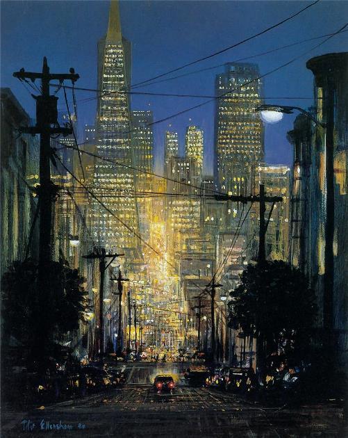 San Francisco-California Night