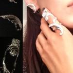 Silver Kaffa and retaining ring