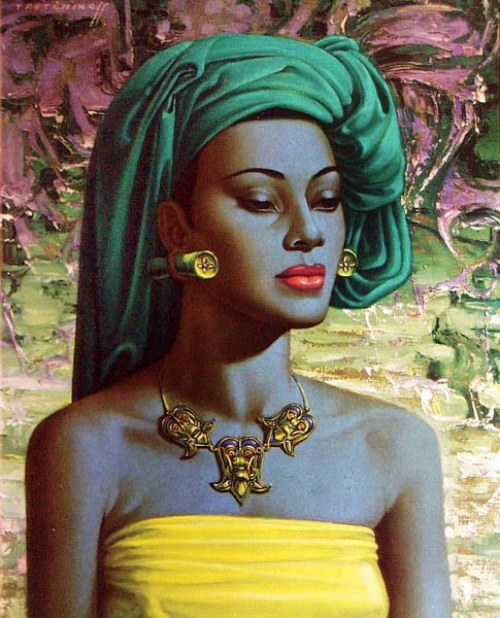 Painting by Vladimir Tretchikoff