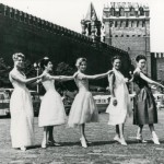Dior models in Moscow, 1959