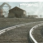 Thus a new high-grade railway line appeared in the dusty desert near the Rio Puerko