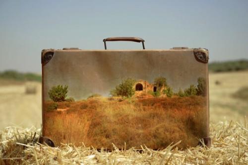 Nostalgic Memory Suitcases by Yuval Yairi