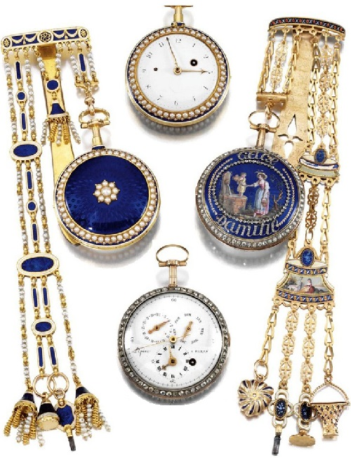 1800 Antique jewelry watches