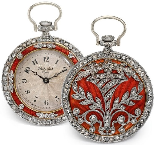 Antique jewelry watches