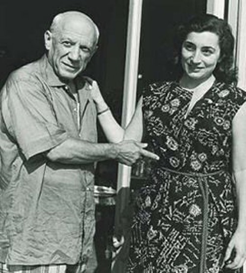 Last muse of Picasso