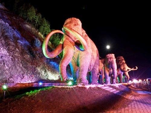 Khanty-Mansiysk Archeopark Prehistoric mammoths