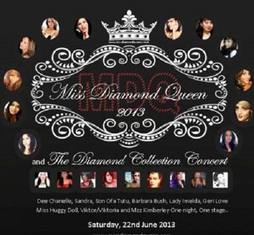 Diamond Queen 2013 Dani St James