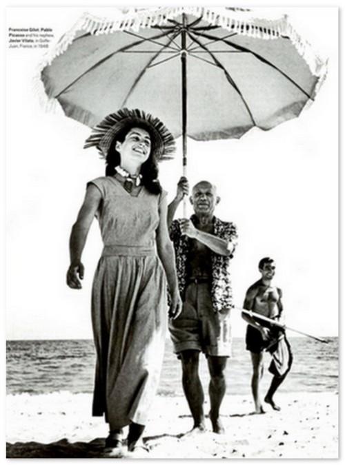 Francoise Gilot and Pablo Picasso