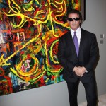 Exhibition of paintings by Sylvester Stallone in Moscow
