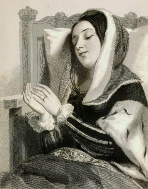 Shakespearean beauties in Charles Heath engravings