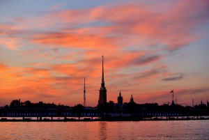 Scarlet Sails celebration in St. Petersburg
