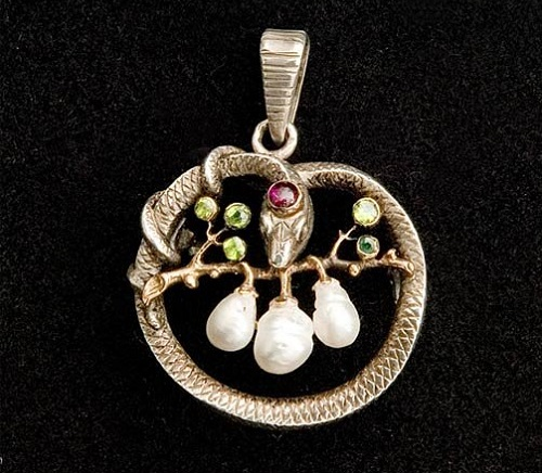Wilhelm Lucas von Cranach Art Nouveau jewelry