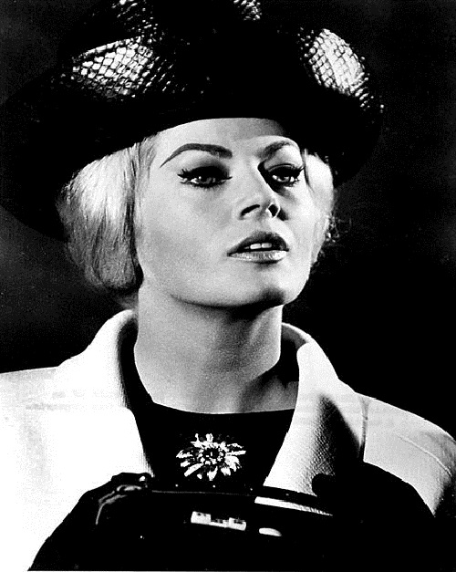 Swedish beauty Anita Ekberg