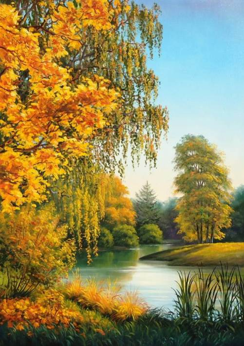 Painting Autumn Russian artists