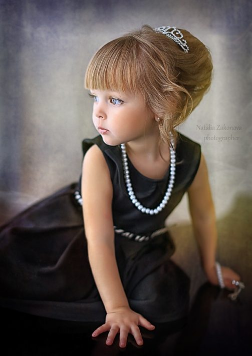 Child photographer Natalia Zakonova