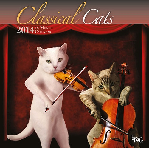 Maverick Arts 2014 Glamour Cat calendar
