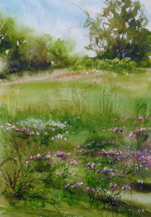 Russian watercolorist Ilya Ibryaev