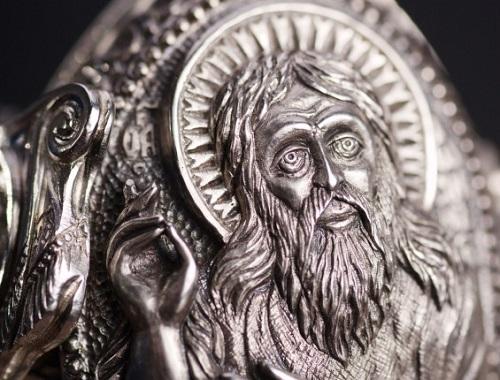 Orthodox jeweler Vladimir Mikhailov