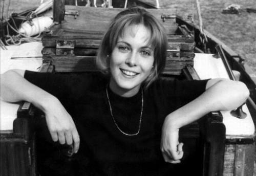French actress Claude Jade