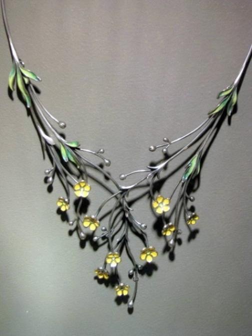 Enamelist jeweler Nikolay Suslov