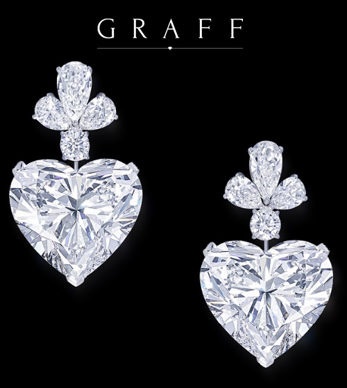 Graff Diamonds jewelry hairstyle