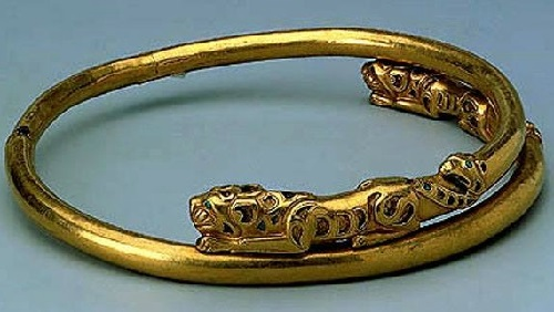 Ancient Siberian jewelry