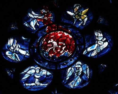 Marc Chagall Stained-glass windows