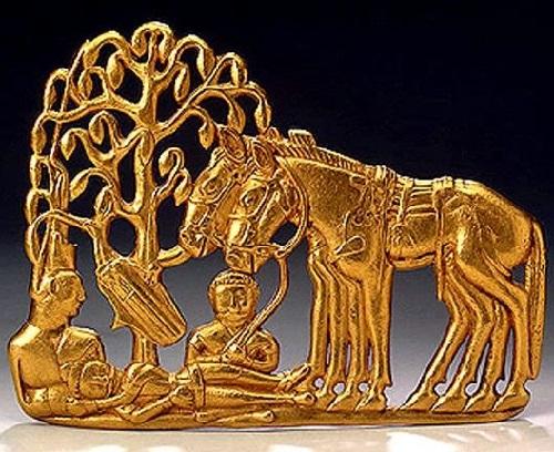 Ancient Siberian jewelry