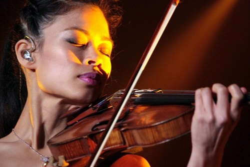 Asian beauty Vanessa Mae