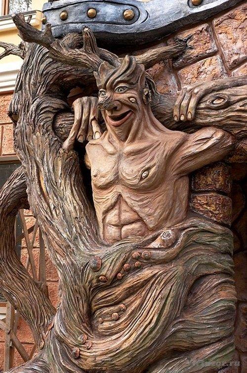 Vladimir Kolesnikov fabulous sculptures of concrete