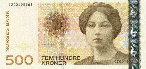 Norwegian writer Sigrid Undset