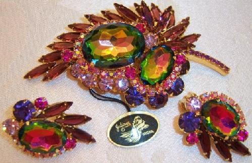 De Lizza & Elster costume jewelry