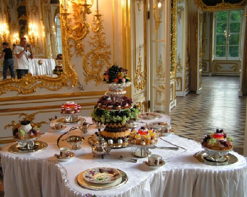 Dessert for emperors and kings, created by Aldis Brichevs