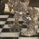 Precious chess by Siberian jeweler Ruslan Tymoshchuk