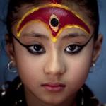 Nepal living goddess Kumari