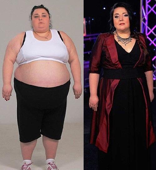 Ukrainians lose weight. Alina Sholom